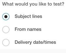 Cómo crear una prueba a/b en Mailchimp
