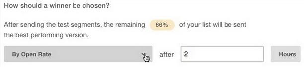 Cómo crear una prueba a/b con mailchimp