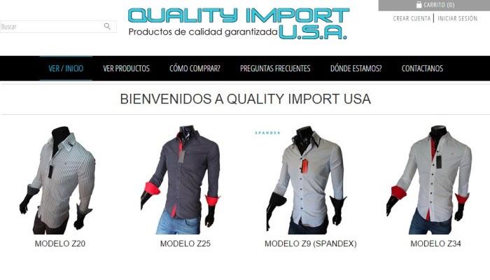 Vender ropa de hombre online  el caso de Quality Import USA 65a6614beb2