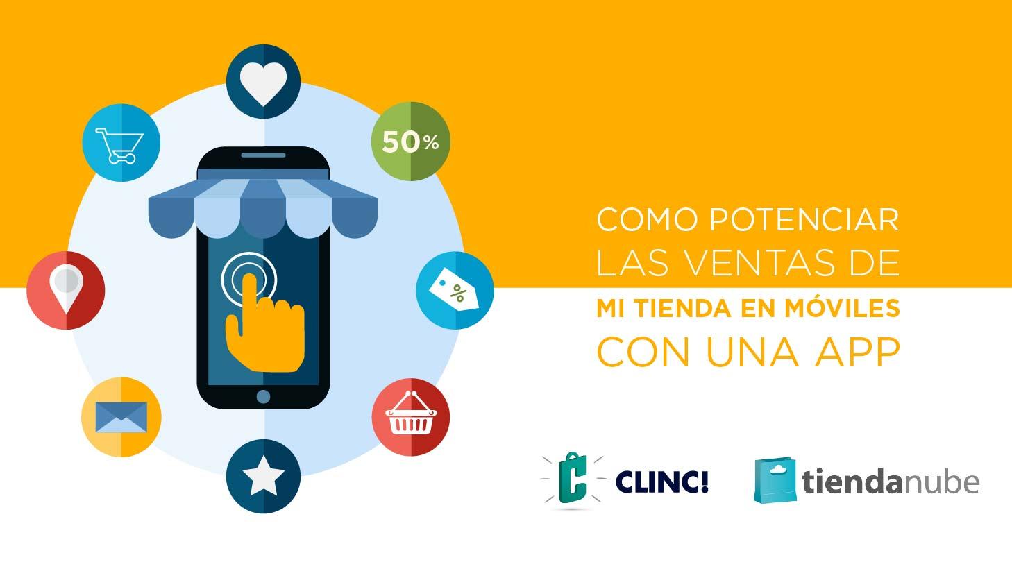 Empieza a vender a través de móviles con CLINC!