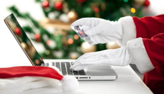 Compras online en Navidad