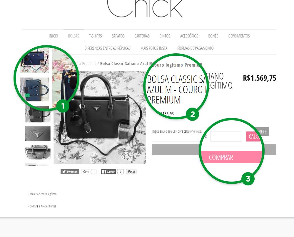 Bolsa Chik - Nuvem Shop