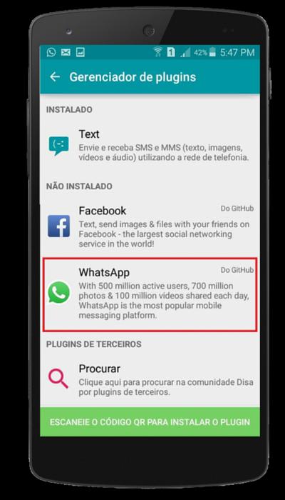 Como ter duas contas de WhatsApp no mesmo celular