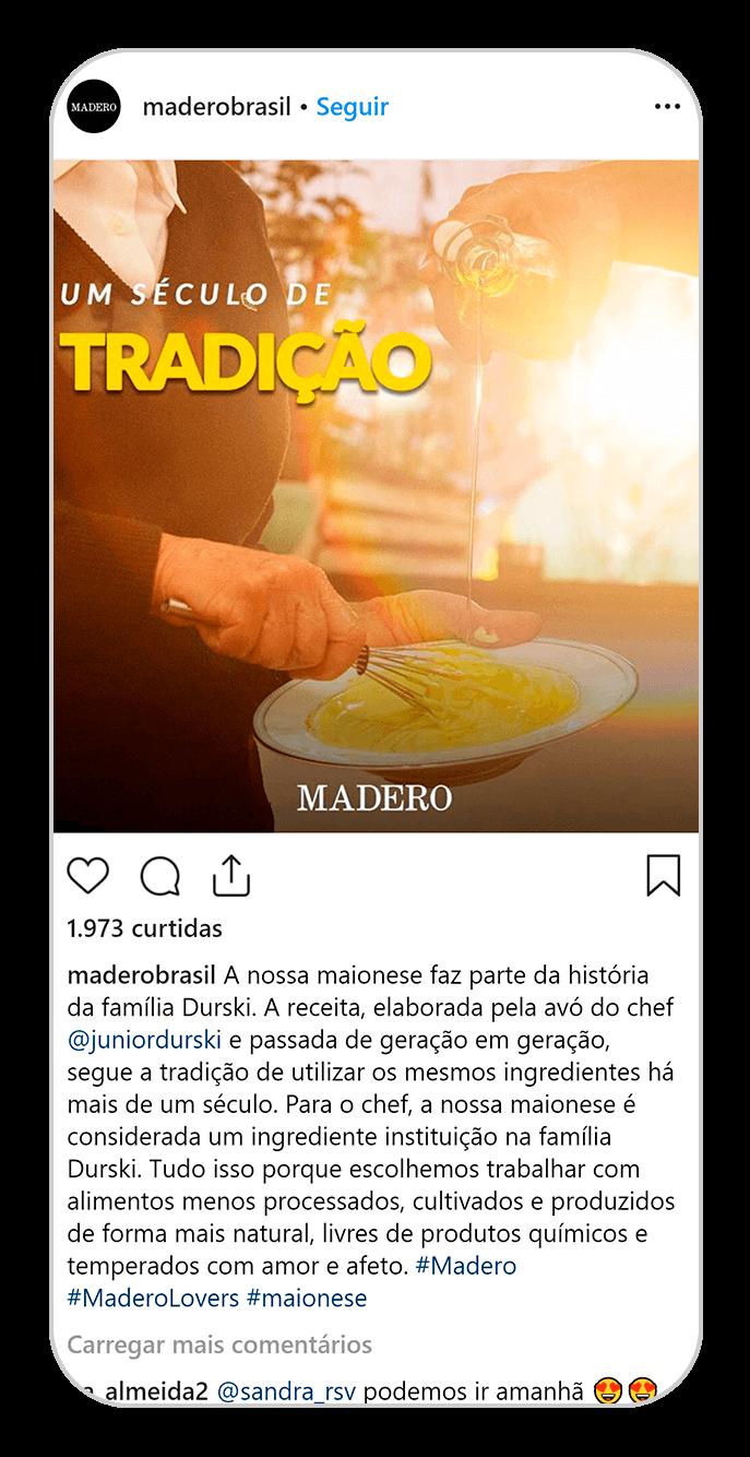 madero instagram