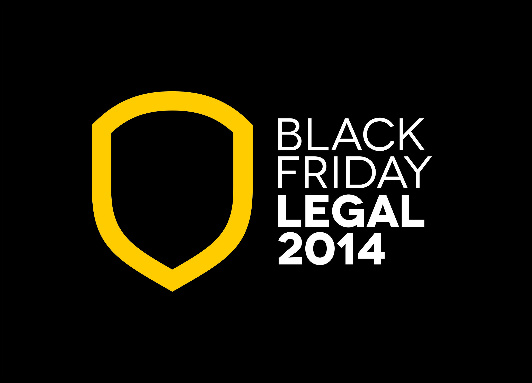 Selo da Black Friday Legal