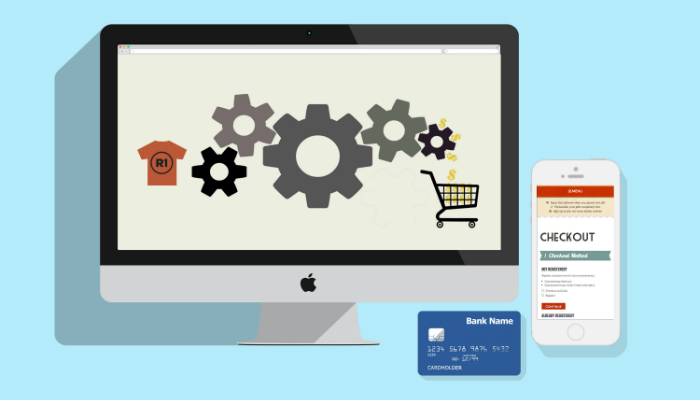 Checkout transparente ecommerce