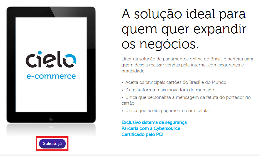 Cielo E-commerce