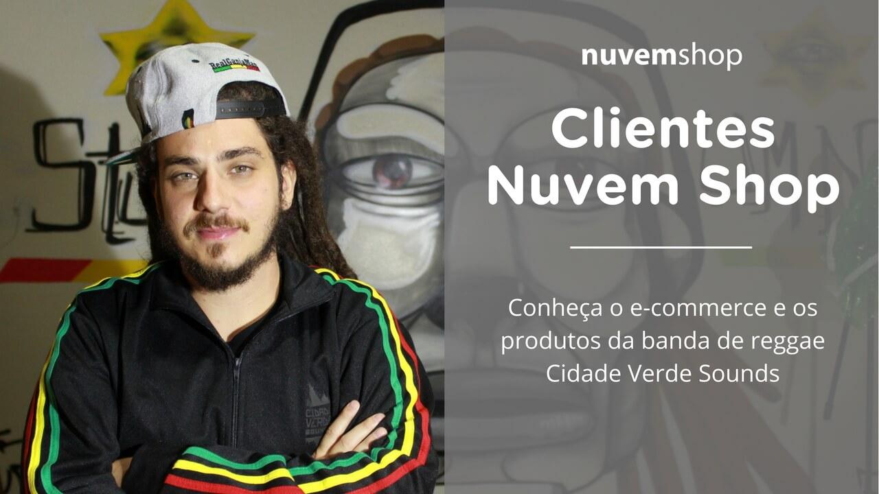 Conheça o e-commerce e os produtos da banda de reggae Cidade Verde Sounds