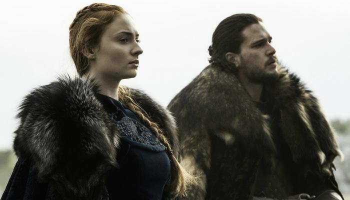Sansa e Jon Snow
