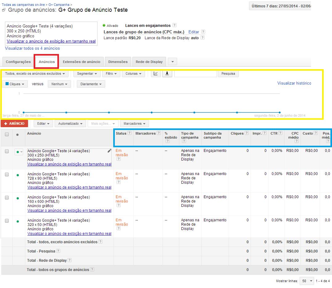 Como fazer anúncios no Google Mais