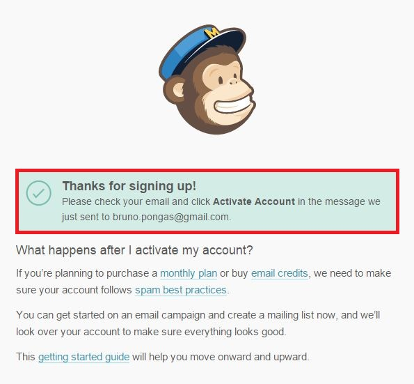 Como criar email marketing MailChimp