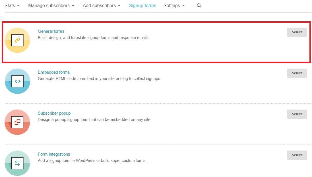 Como criar um email no MailChimp