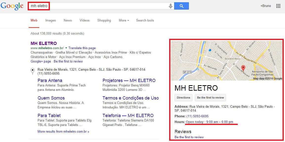 Ecommerce Google Maps