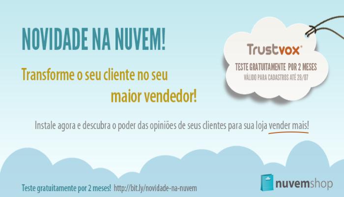Parceria Nuvem Shop Trustvox