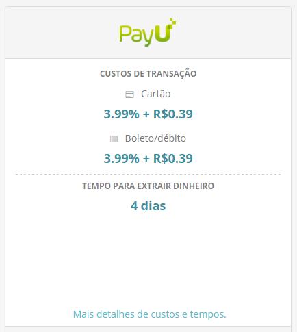 PayU compras valores