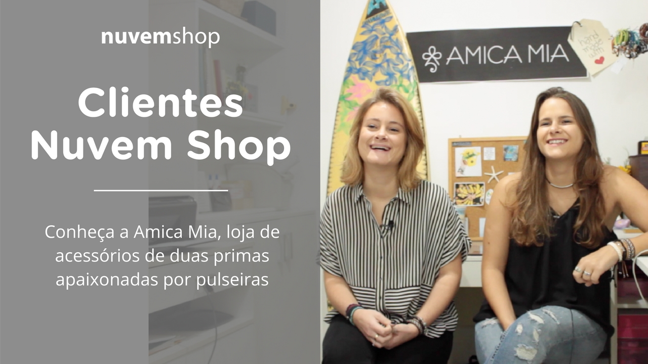 Conheça a Amica Mia: passatempo entre primas que virou negócio