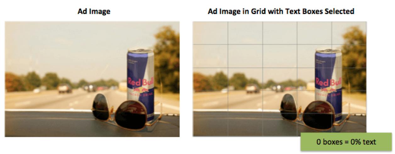 Ferramenta de grade mede a quantidade de texto em imagens de anúncios no Facebook.