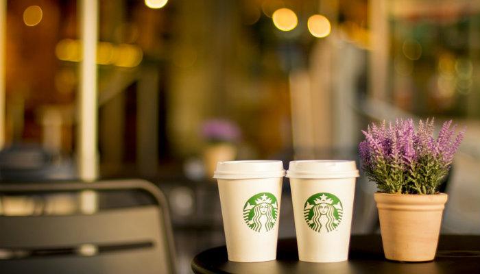 Café Starbucks marca de sucesso