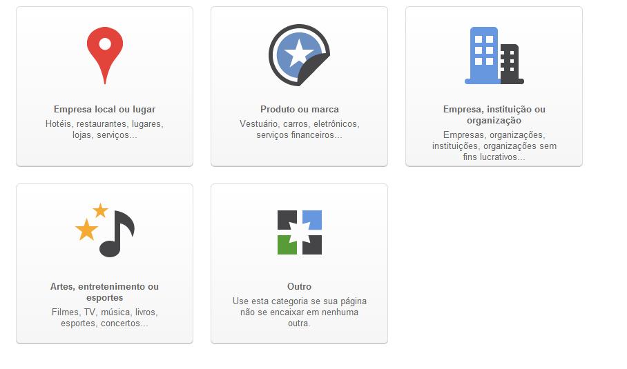 Como criar e vincular uma página no Google +