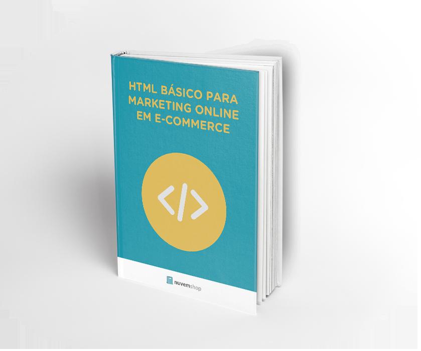 HTML básico para marketing online em e-commerce