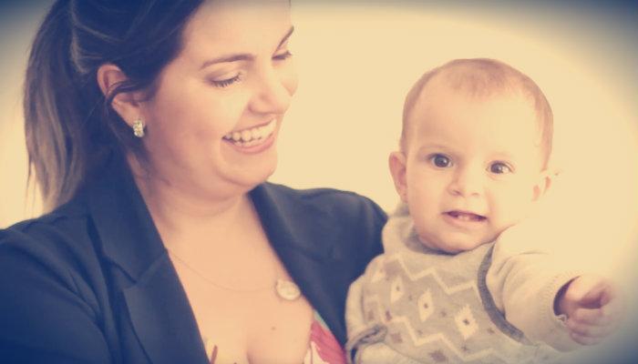 [Dia das Mães] Ela trocou sua carreira por um negócio online para ficar mais perto dos filhos