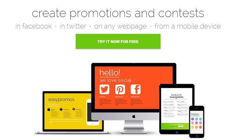 easypromos - ferramenta para criar concursos