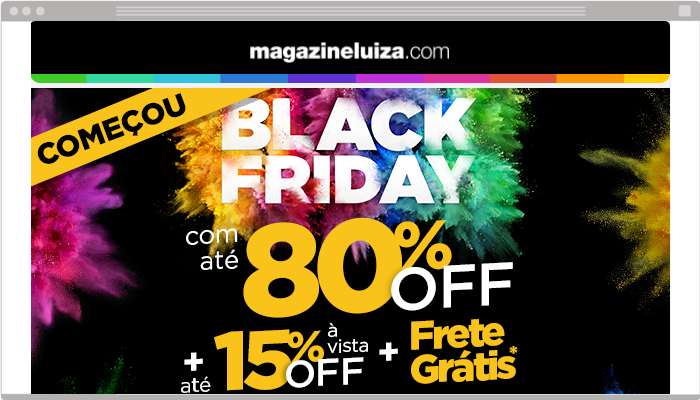 E-mail marketing Black Friday
