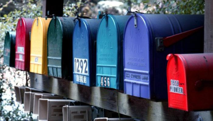 E-mail personalizado