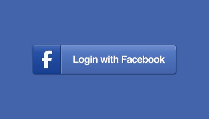 login com facebook