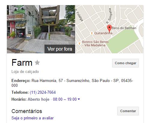 Localize sua empresa no Google