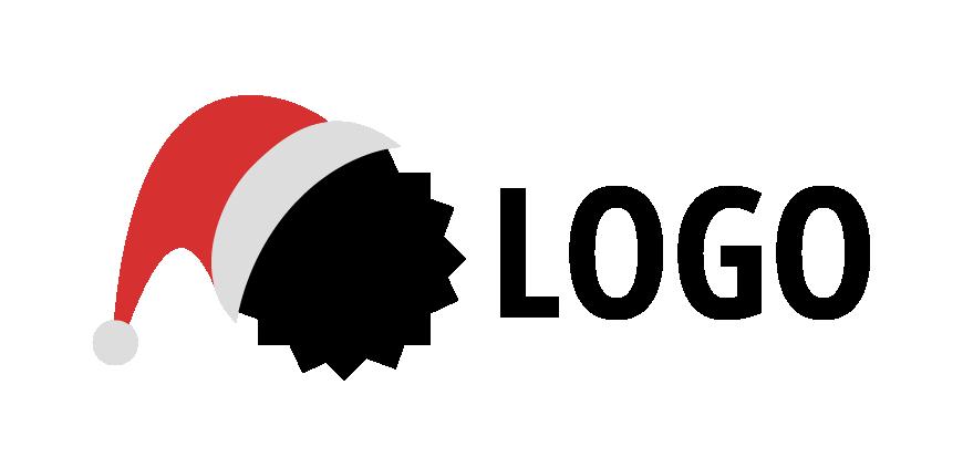 Exemplo de logo natalino