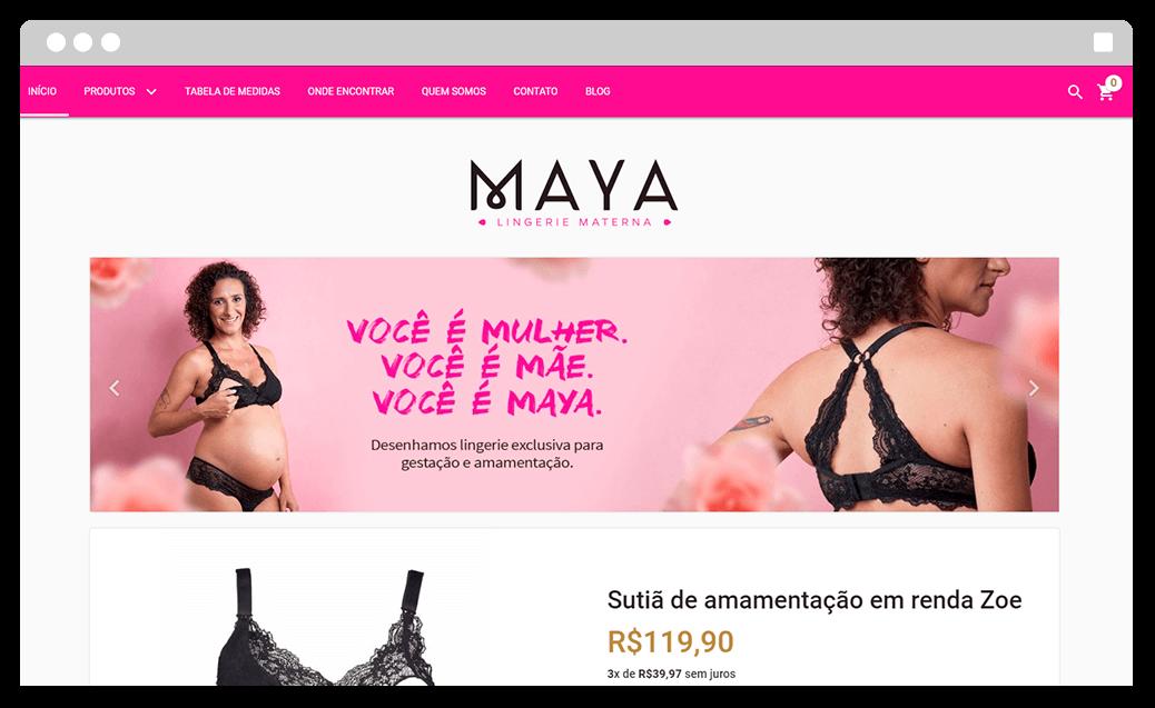 maya lingerie