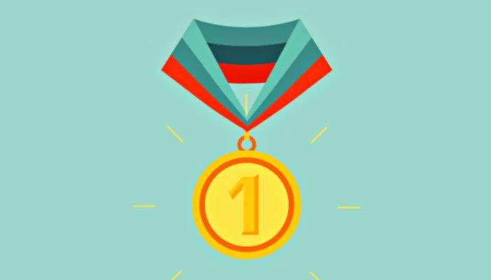 Ilustração de medalha