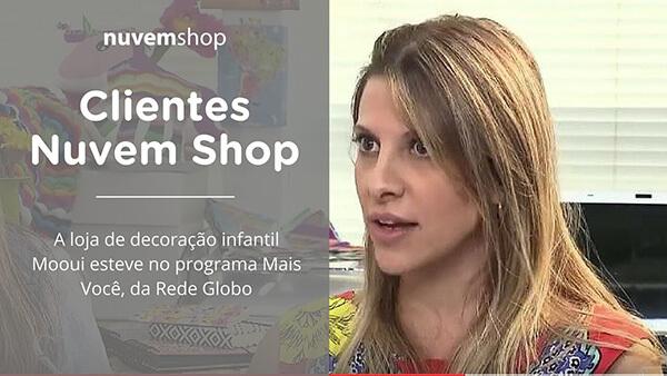 A Mooui, loja de decoração infantil, em entrevista para a Ana Maria Braga