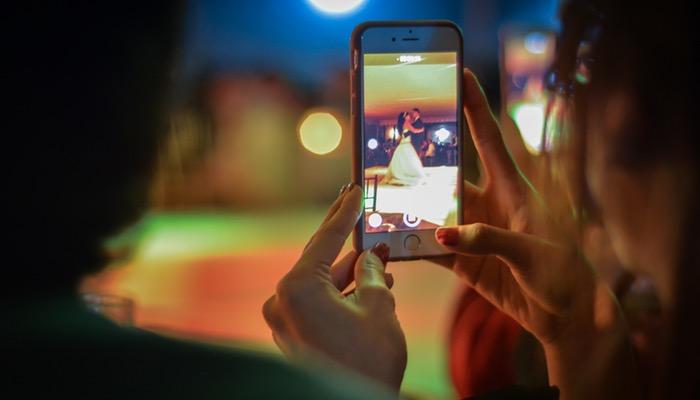 gravar videos com o celular