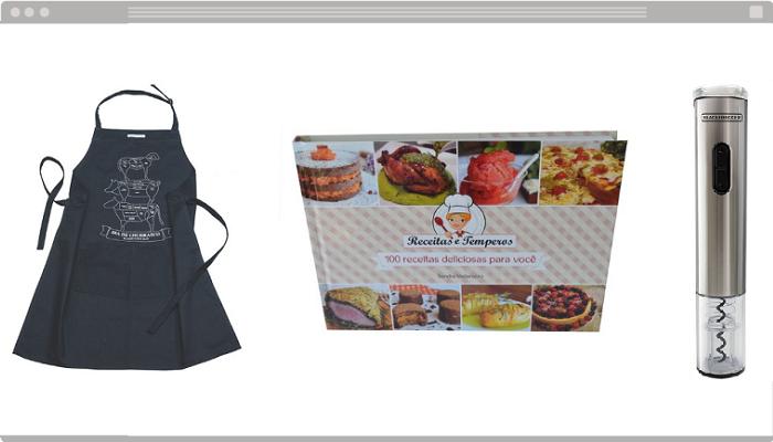 Presentes online masculinos gourmet