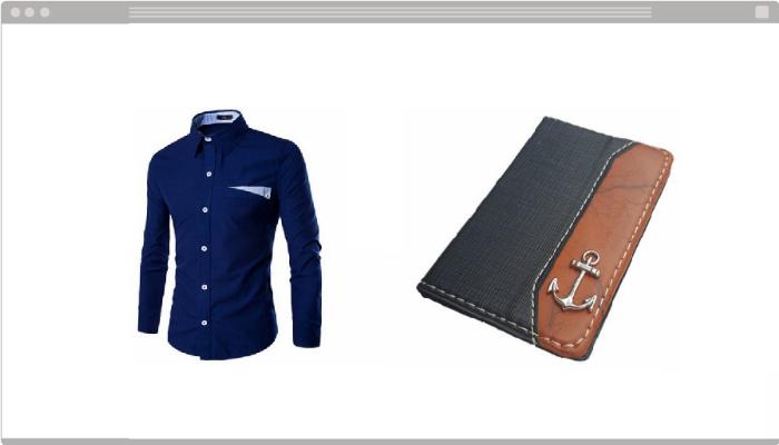 Presentes masculinos online moda