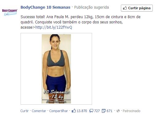 Publicações Relacionadas Facebook