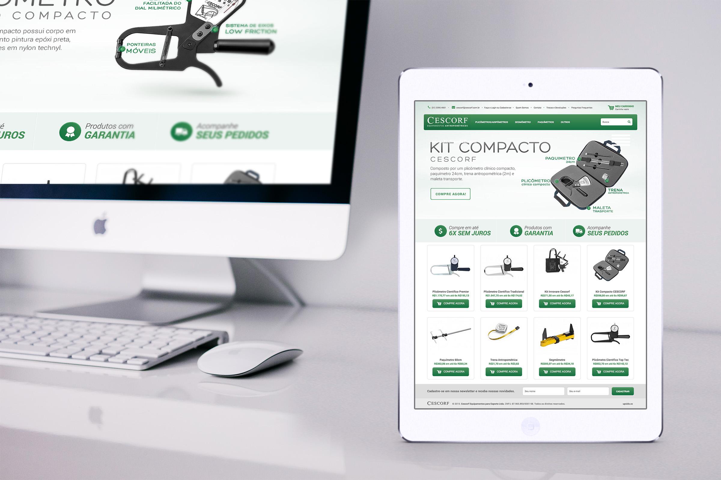 Projeto loja virtual Cescorf