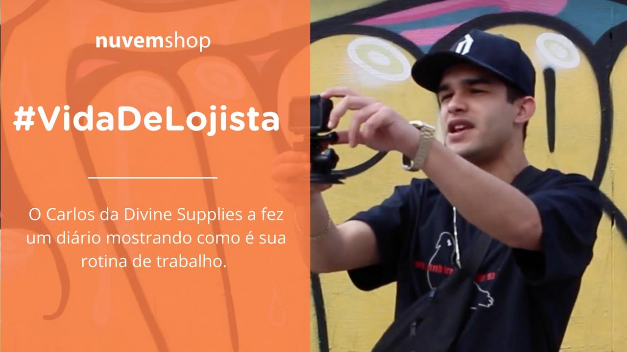 [Vida de lojista] Conheça o dia a dia do Carlos, dono da Divine Supplies