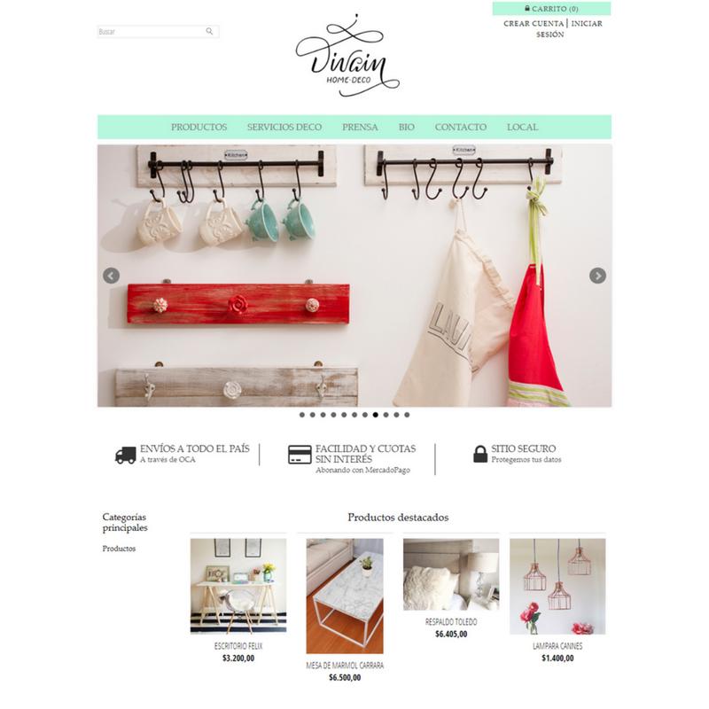 c7137f0af647d Diseños a medida para tu tienda online de Ecommerce por Estudio Volando