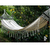 Double hammock with wooden supports and fringes - buy online
