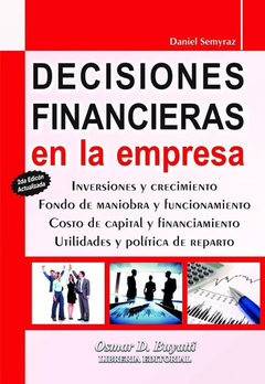 Decisiones Financieras En La Empresa Semyraz Daniel