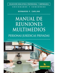 Manual De Reuniones Multimedios - Personas Jurídicas Privada