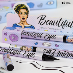 CANETA DELINEADORA BEAUTIFUL EYES - comprar online