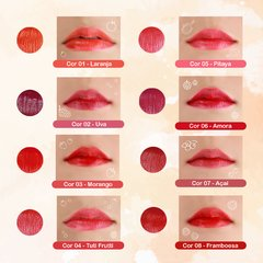 KIT COM 3 UNIDADES MAKE TINT SWEET LIPS - comprar online