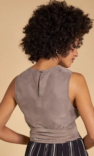 CROPPED AMARRACAO CUPRO SHOULDER