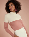 Tricot Color Block Shoulder (445412)