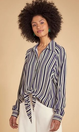 CAMISA AMARRACAO CREPE SHOULDER