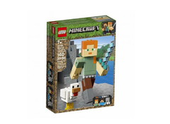Lego Minecraft Bigfig Alex Com Galinha (423448)